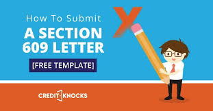 How To Submit A Section 609 Letter Free Template Credit