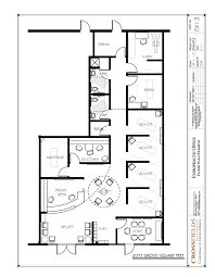 simple small space doctor office. plain space chiropractic office floor plan multi doctor semiopen adjusting 2072  gross sq and simple small space c