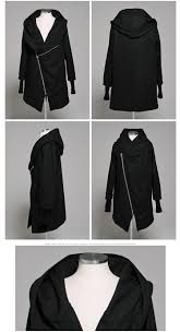 fashion 2016 gothic mens winter jackets and coats even gloves outwear zipper with a hood windbreaker