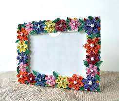 diy paper photo frame ideas paper photo frame home interior decor s