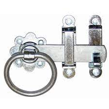 galvanised ring latch entrance side