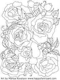 Small Picture Coloring Pages Roses Flowers Coloring Pages Coloring Pages