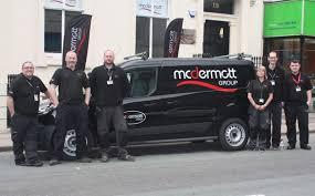 McDermott Group Glasgow Kiltwalk team   Project Scotland