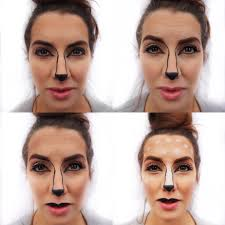deer easy diy tutorial makeup maybelline easy ideas sephora snapchat filter fawn step