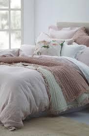 mm linen laundered linen blush duvet cover set extra pillowcase euro sets sold separately