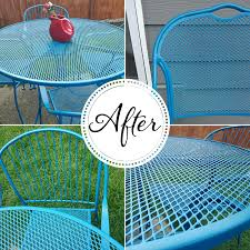 painting wrought iron furniture. How To Refinish Wrought Iron Patio Furniture Painting R