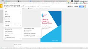 Create A Poster In Powerpoint Creating Posters In Google Slides