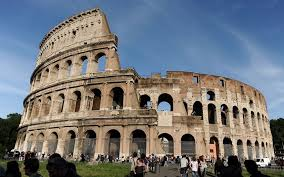 famous ancient architecture. Colosseum ROme Famous Ancient Architecture