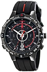 timex men s t2n720 quartz tide temp compass watch black dial timex men s t2n720 quartz tide temp compass watch black dial analogue display and black silicone