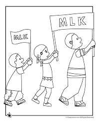 Small Picture Martin Luther King Parade Coloring Page Woo Jr Kids Activities
