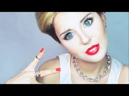 miley cyrus make up tutorial by anastasiya shpagina you