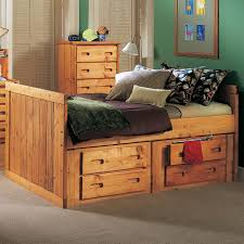 twin captains bed with drawers. Modren Bed Trendwood Bunkhouse Twin Roper Captainu0027s Bed  Item Number 475547565757 With Captains Drawers