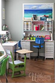 Vintage Student Desk DIY makeover-8
