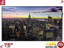samsung 75 4k. samsung qm75f / lh75qmfplgc/en 75\u201d 4k large format display 75 4k r