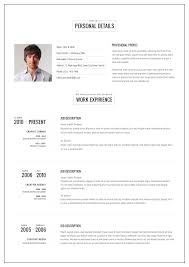 Examples Of Two Page Resumes Examples Of Resumes