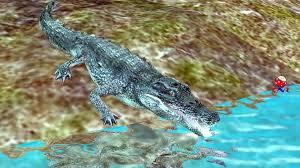 Bull Shark Vs Crocodile Attack Each ...