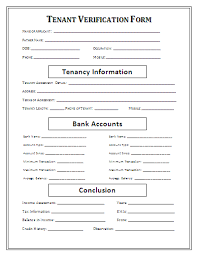 Free Employment Verification Form Template Free Landlord FormsTenant Verification Formgif Sales Report Template 50