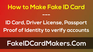Make An Id Card How To Make Fake Id Card Online Free Editable Template