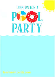 Free Printable Kids Birthday Party Invitations Templates To