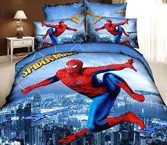 spiderman queen bedding kids cartoon bedding comforter sets bedroom children queen size bedspread bed in a bag sheets duvet cover oversized duvet spiderman