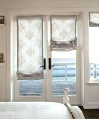 roman shades for patio doors roman shades on sliding glass doors ideas shades for patio doors