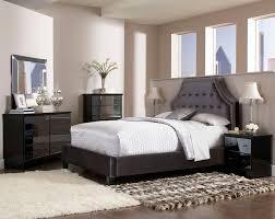 Parisian Bedroom Furniture Standard Furniture Parisian Upholstered Headboard In Grey Velvet