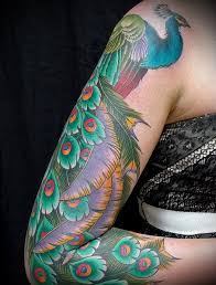 100 Fotografické Nápady Peacock Tattoo Skic Význam Pro Dívky