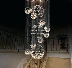 sphere crystal chandelier x modern rain drop with round