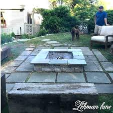 square patio stone patio block patio block fire pit stone beam benches square patio stone