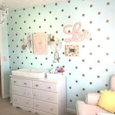 part gold polka dot decals rose wall stickers pink glitter