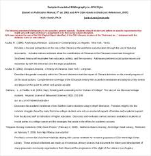 free annotated bibliography templates