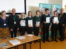 barton goes bavarian for schools german day barton peveril college winners from wildern school collect their certificates