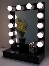 marvelous makeup vanity mirror lights. exellent lights stylish makeup mirror with lights ireland black vanity  lightupmyparty marvelous and e
