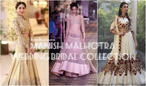 Manish Malhotra Lehenga Designs 2018 Manish Malhotra Lehengas 2018 Bridal Collection Designs For