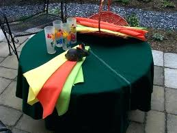 round tablecloth with umbrella hole outdoor fabrics tablecloth