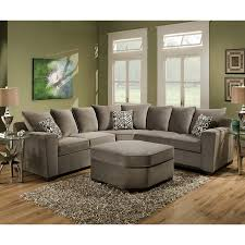 Wayfair Living Room Furniture Simmons Upholstery Roxanne Sectional Reviews Wayfair