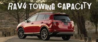 2016 Toyota Rav4 Towing Capacity