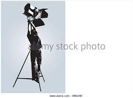 lighting technician. lighting technician stock image