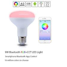 control lighting with iphone. Contemporary Lighting Bluetooth Smart Led Flood Light Bulb Smartphone Controlled Dimmable  Multicolored Color Changing Lights Works With Iphone Ipad Android Sylvania Bulbs  To Control Lighting Iphone