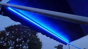 Camper Lights Rv Lighting Led Strip Waterproof Multicolor Awning Canopy Lights Super Bright