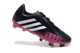 men 2016 adidas football boots predator lz trx xiii fg black pink