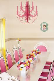 dollhouse paper laser cut chandelier