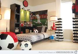 Soccer Bedroom Decor Lovely 7 Habitaciones Infantiles Para Peques  Deportistas Soccer Bedroom