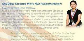 family histories program new americans museum the student essay competition family histories migrants to the united states was created to celebrate the courage and achievements of migrants to the