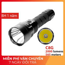 SIÊU SÁNG] Đèn pin và đèn sạc Sofirn C8G bóng LED SST40 độ sáng 2000lm  chiếu xa 565 m sử dung pin 21700 giảm chỉ còn 850,000 đ