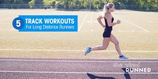 5 track workouts for long distance