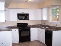 kitchen ideas white cabinets black appliances. Kitchens With Black Appliances   New Kitchen White Cabinets Tile Floor Laminate . Ideas I