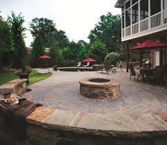 Paver Patio Design Ideas circle kit paver pattern design ideas