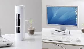 bladeless horizontal vertical desk fan