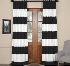 Black Patterned Curtains Custom Inspiration Ideas
